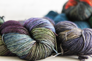 Malabrigo Rios Yarn Hanks | WEBS How To Swatch Knitting