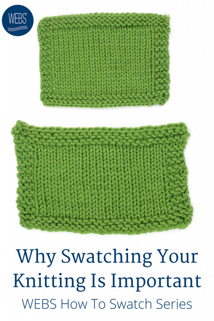 how to swatch knitting | valley yarns northampton
